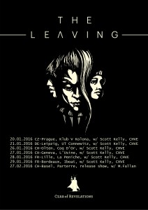 tourflyer the leaving